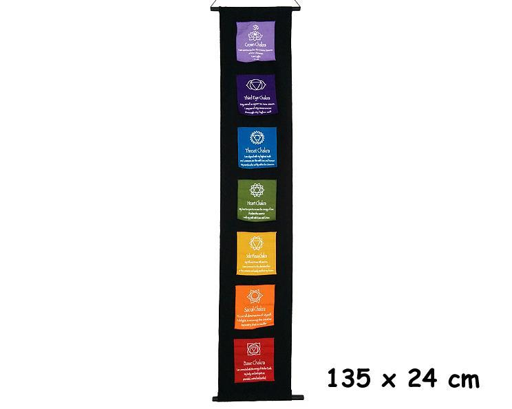 Wallhanging - Chakras affirmations (2 pack)