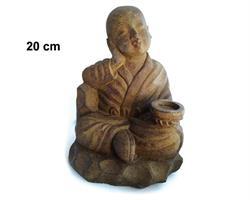 Shaolin monk - Relax brun 20cm (8 pack)