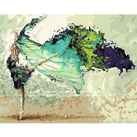 Mal eller nummer, Ballerina 50*40cm