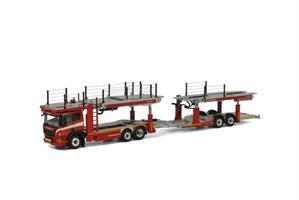 WSI Scania P 6x2  3+2 axle cartransporter
