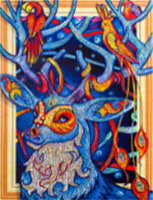 Diamond Painting, Fantasi Elg 40*50cm (LP021) AP