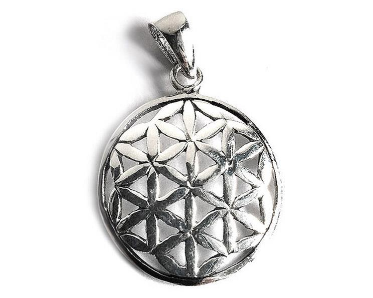 925 Silver - Flower of life (5 pack)