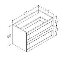 Underskåp bänk Adagio 80 cm