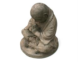 Shaolin monk - Grå 20cm (4 pack)