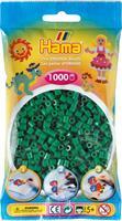 Hama perler Midi, Grønn 207-10 1000stk