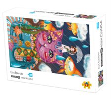 Mini Puzzle, Cat baron 42*29,7cm 1000 brikker