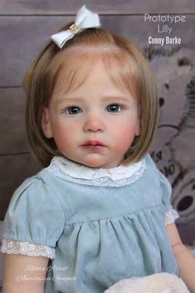 Toddler Lilly Reborn Kit av Conny Burke 28