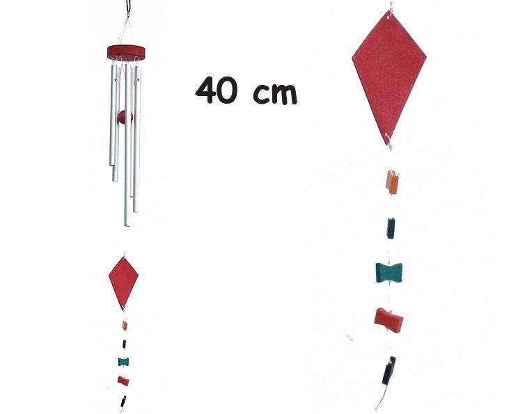Vindspel - Flygande drake 40cm (6 pack)