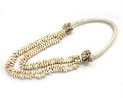 Papua - Halsband med två rader snäckor (2 pack)