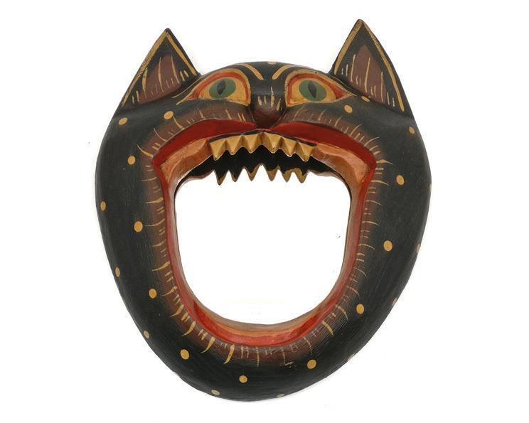 Spegel - Katt grön (6 pack)