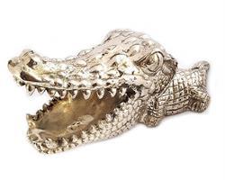 Brons - Silver baby krokodil (2 pack)