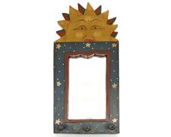 Spegel - Hängare Bali 40cm (6 pack)