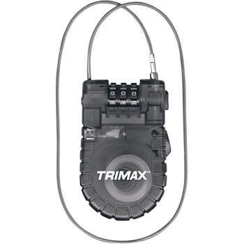 TRIMAX Retractable Cable Lock