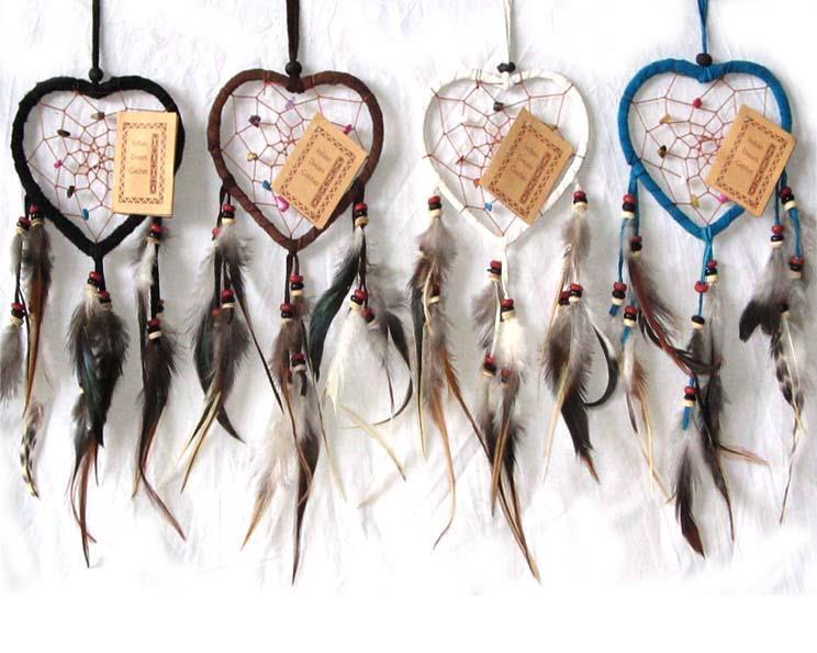 Drömfångare - Hjärta med stenar mix (10 pack)
