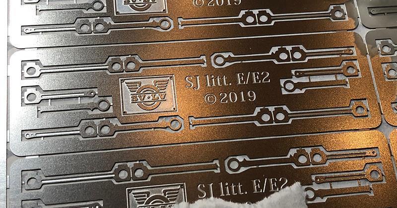 Koppelstänger till Liliput SJ litt. E/E2.