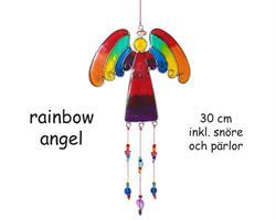 Solfångare - Ängel regnbåge 30cm (12 pack)