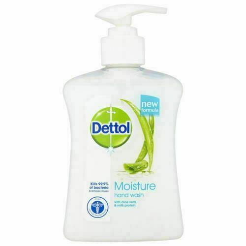 Dettol Hand Wash Moisture 6x250ml