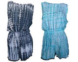 Playsuit - Tie Dye mix (6 pack)