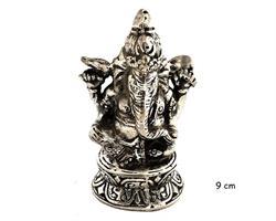 Brons - Silver Ganesha 9cm (1 pack)