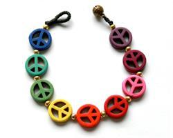 Armband - Rainbow Peace (10 pack)