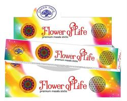 Green Tree - Flower of Life (12 pack)