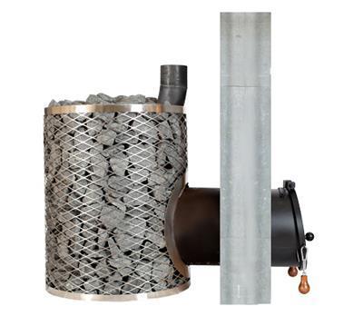 SL-IKI /Loimu-IKI (8-15 m³(10-25 m³) Seinäläpi lämmitys. 450X 200mm 1.Lohko