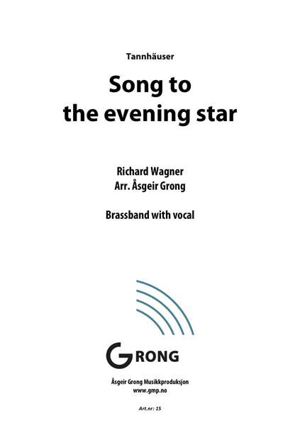 Song to the evening star - Brassband