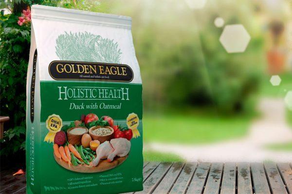Golden Eagle med And og Havre, kun en animalsk proteinkilde