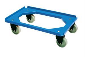 Tralle Minimove rustfri 600x400mm 2f+2sv Ø100 blå