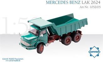 Conrad MB LAK 2624 Green