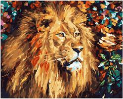 Mal eller nummer, Løve 50*40cm (YC2373)