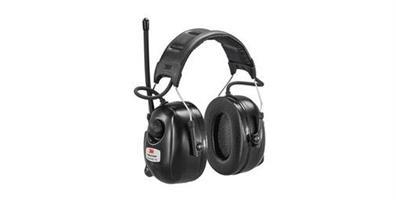 Hørselvern med hodebøyle og DAB+ radio