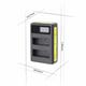 Dobbeltlader for Nikon EN-EL14a batterier m/Disp