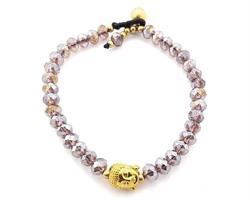 Armband - Buddha sand kristall (6 pack)