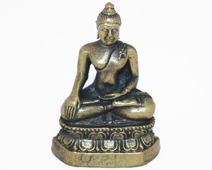 Brons - Miniatyr Buddha II (2 pack)