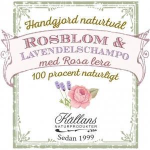 Rosblom & Lavendelschampo från Källan