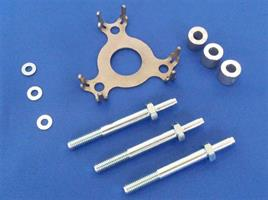 KIT SCREWS SPACERS AND PLATE (M6S)