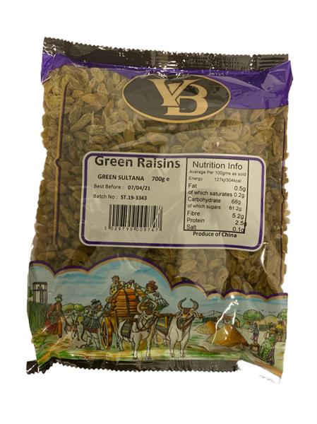 V.B. Green Sultana 11x700g