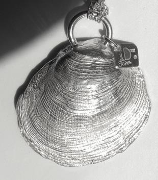 Snäcka i silverlera