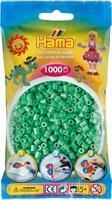 Hama perler Midi, Lys grønn 207-11 1000stk