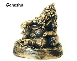 Brons - Miniatyr Ganesha II (2 pack)