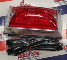 DELUXE RED SIDE MARKER LIGHT
