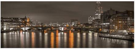 Puslespill Panorama London at Night 235*83cm 6000 brikker