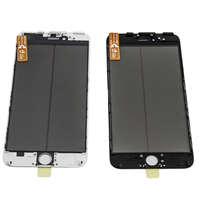Glass/Ramme/OCA/POL - iPhone 7+ - BK