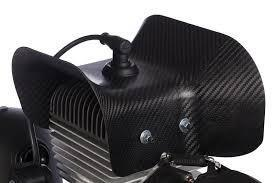 (ACC161) Carbon fiber extra cooling shroud (side)