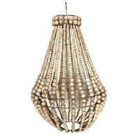 Lampa - Träpärlor natur 40cm (1 pack)
