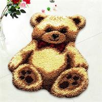 Ryeteppe, Teddybjørn 50*40cm