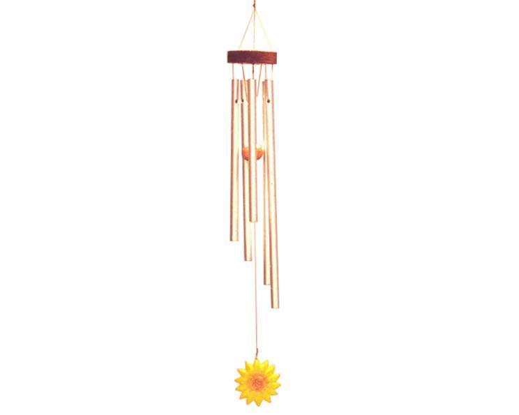 Vindspel - Solros 38cm (6 pack)