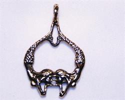 Halsband - Sjöjungfruar i mässing (3 pack)