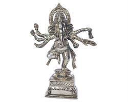 Brons - Silver Ganesha 33cm (2 pack)
